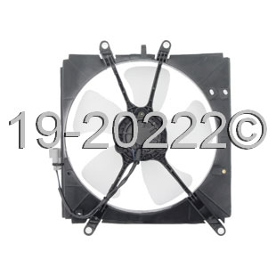 Geo Prizm Cooling Fan Assembly