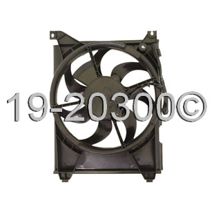Hyundai Sonata Cooling Fan Assembly