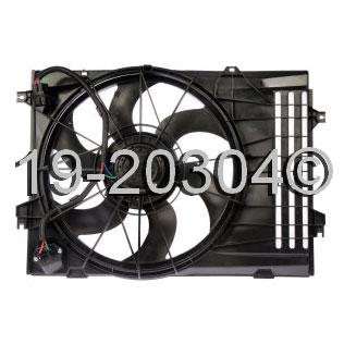 Hyundai Tucson Cooling Fan Assembly