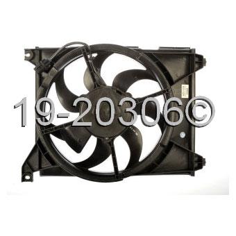 Hyundai XG350 Cooling Fan Assembly