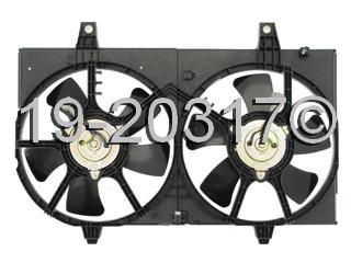 Infiniti I35 Cooling Fan Assembly