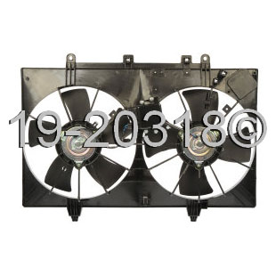 Infiniti M35 Cooling Fan Assembly