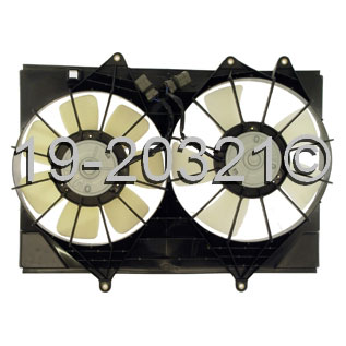 Isuzu Rodeo Cooling Fan Assembly