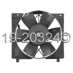 Jeep Comanche Cooling Fan Assembly