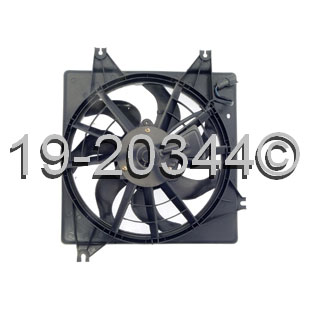 Kia Spectra Cooling Fan Assembly