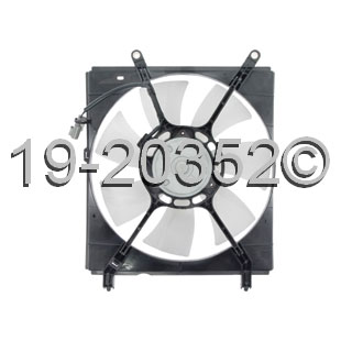 Toyota Solara Cooling Fan Assembly