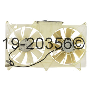 Lexus GS300 Cooling Fan Assembly