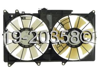 Lexus IS300 Cooling Fan Assembly