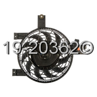 Lexus LX450 Cooling Fan Assembly