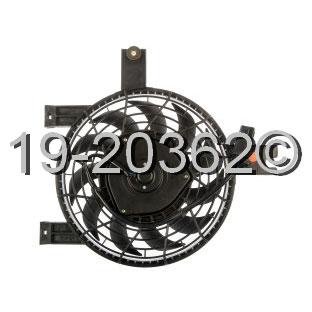 Lexus LX450 Cooling Fan Assembly