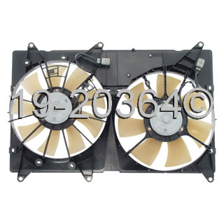 Lexus RX300 Cooling Fan Assembly
