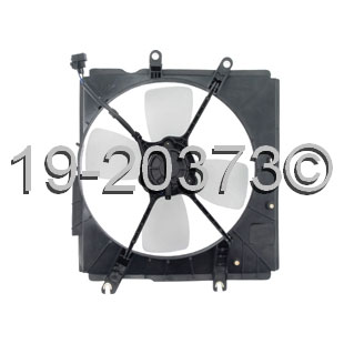Mazda Protege Cooling Fan Assembly