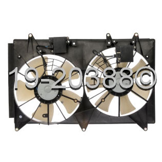 Mazda CX-7 Cooling Fan Assembly