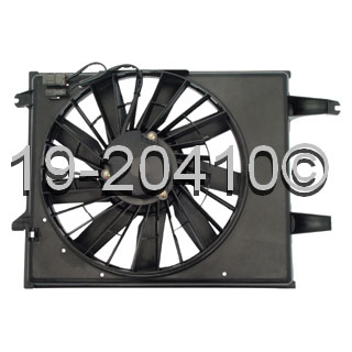 Mercury Villager Cooling Fan Assembly