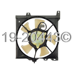 Nissan Sentra Cooling Fan Assembly