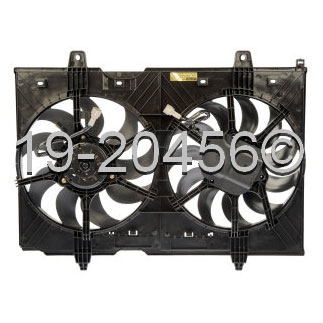 Nissan Rogue Cooling Fan Assembly