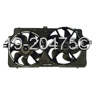 Cooling Fan Assembly 19-20475 AN