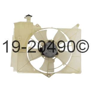 Toyota Echo Cooling Fan Assembly