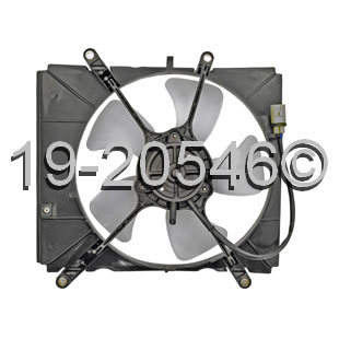 Toyota Paseo Cooling Fan Assembly
