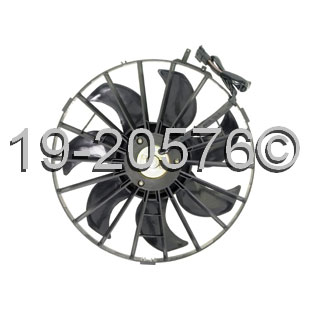 Volvo 240 Cooling Fan Assembly