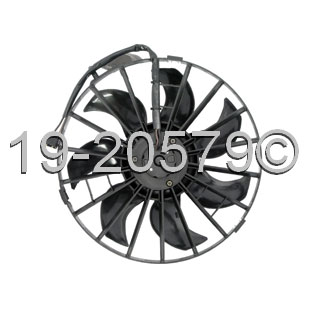 Volvo 940 Cooling Fan Assembly