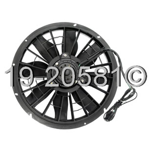 Volvo 740 Cooling Fan Assembly