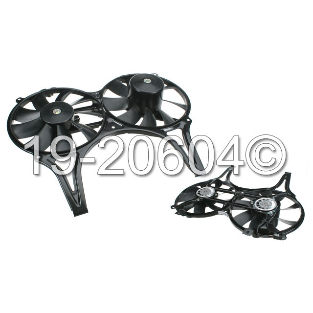 Cooling Fan Assembly 19-20604 AN