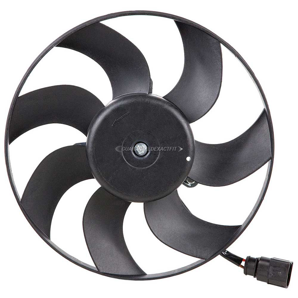 2006 Audi A3 Cooling Fan Assembly