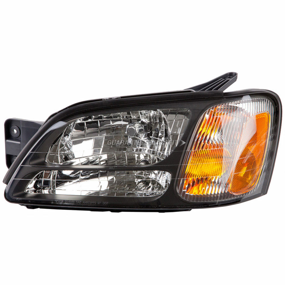 Headlight Assemblies For Subaru Legacy 2000 2004 And Outback Assembly