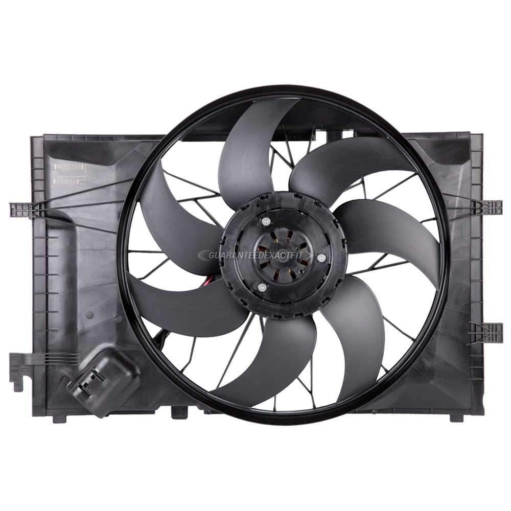 2007 mercedes benz c230 cooling fan assembly all models 19 for Mercedes benz fans