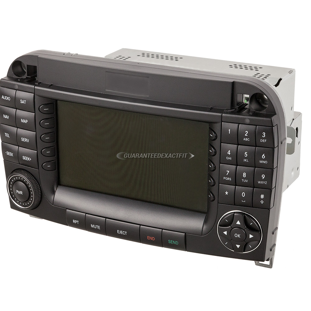 Mercedes_Benz S55 AMG Navigation Unit
