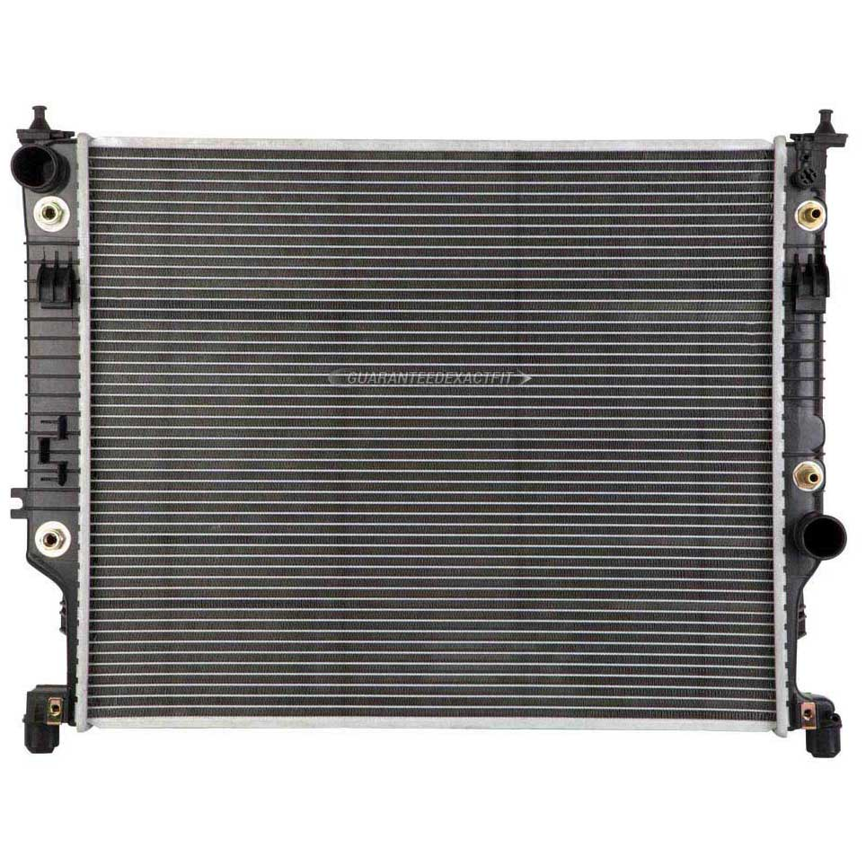 2010 mercedes benz ml350 radiator 4matic models 19 02177 an for Mercedes benz coolant