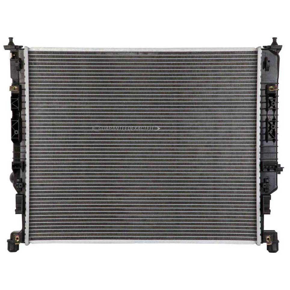 2008 mercedes benz gl450 radiator all models 19 02177 an for Mercedes benz radiator