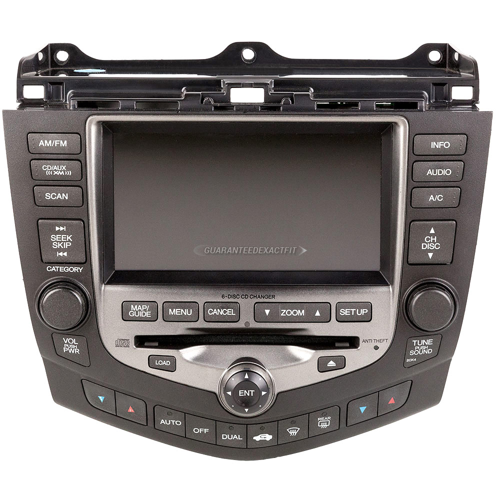 Honda Accord Navigation Unit