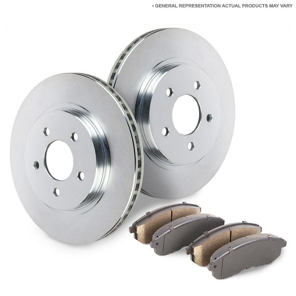Subaru Forester Brake Pad and Rotor Kit