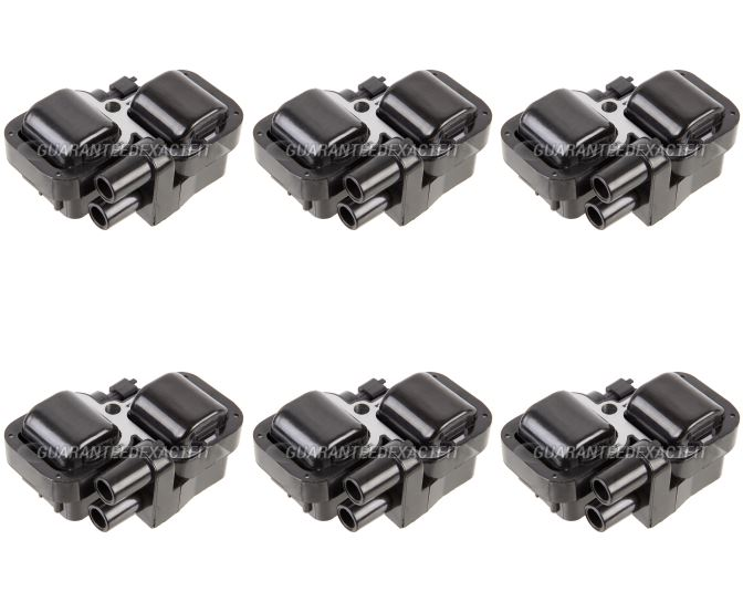 2001 Mercedes Benz CLK320 Ignition Coil Set