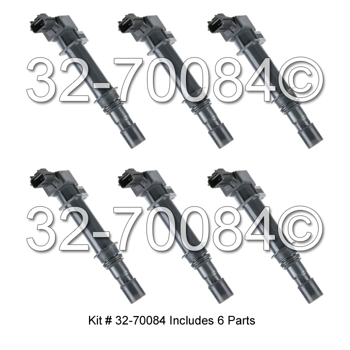 Jeep Grand Cherokee Ignition Coil Set