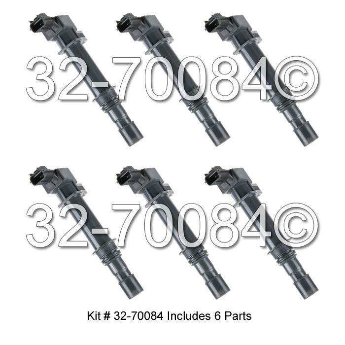 jeep liberty ignition coil set parts  view online part