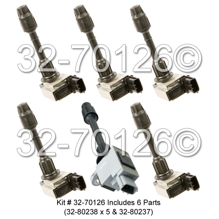 Infiniti QX4 Ignition Coil Set