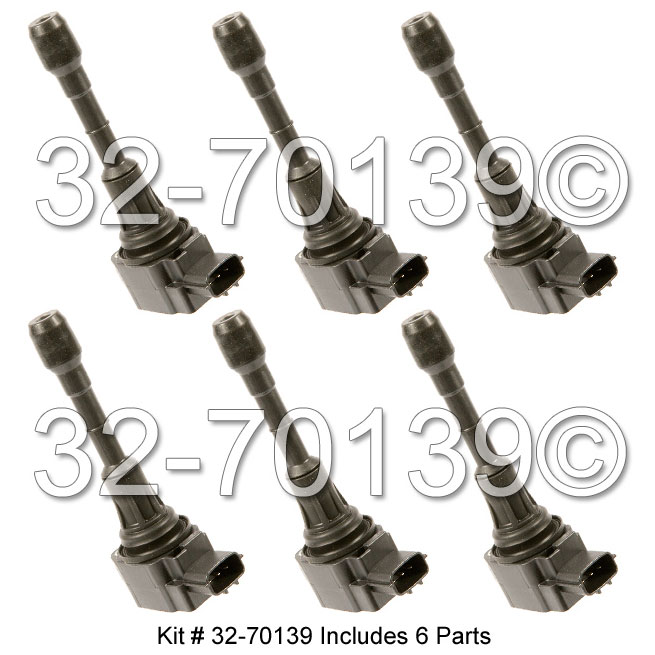 Infiniti M35 Ignition Coil Set