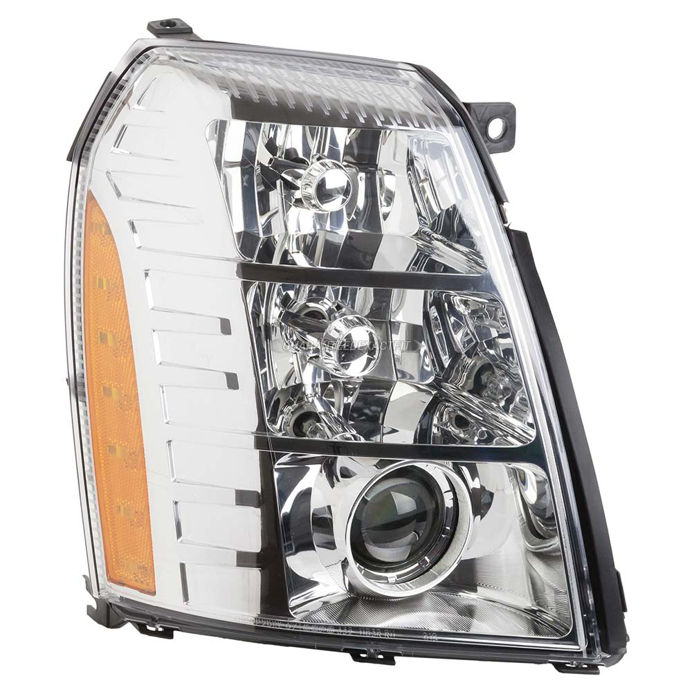 2008 Cadillac Escalade Headlight Assembly Right Passenger
