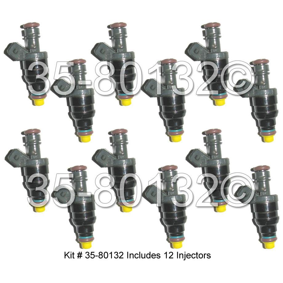 Mercedes_Benz S600 Fuel Injector Set