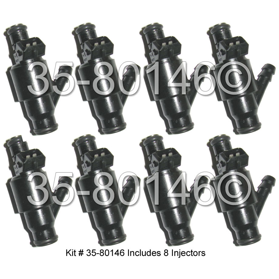 1997 Audi A8 Fuel Injector Set