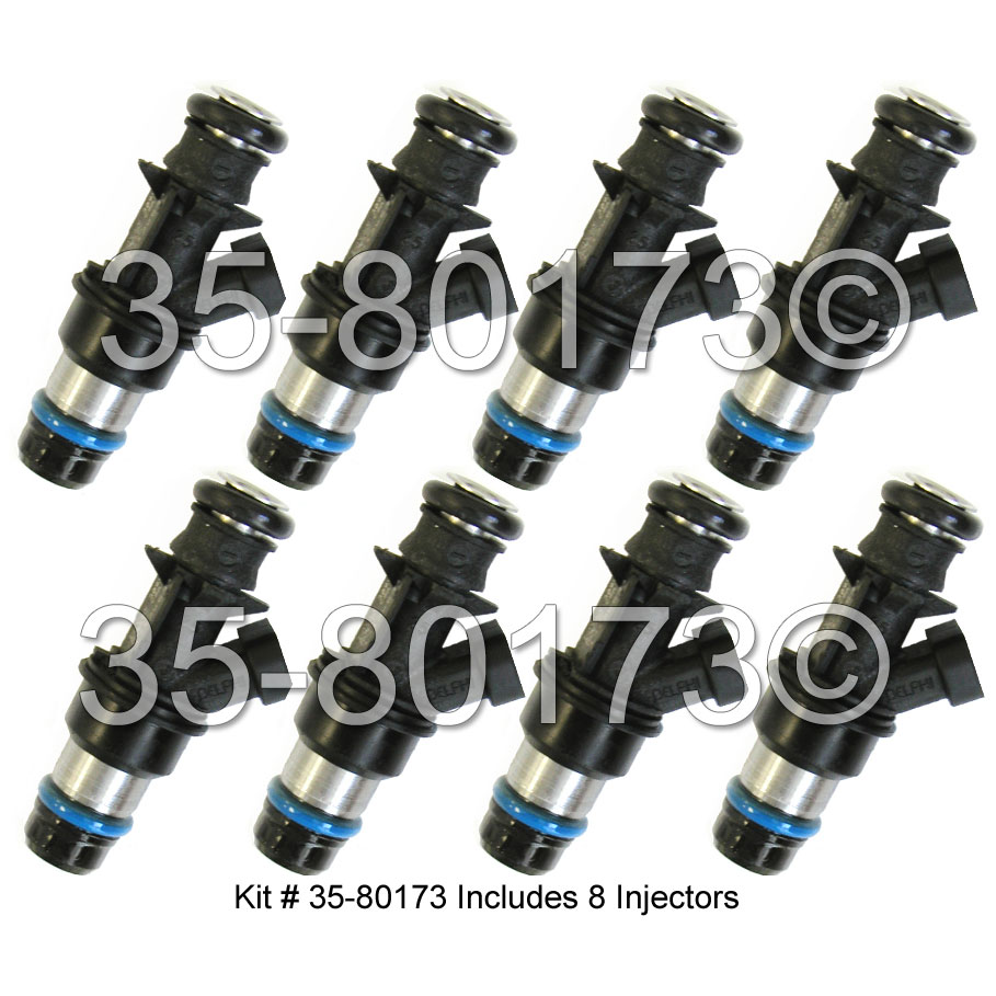 GMC Yukon Fuel Injector Set