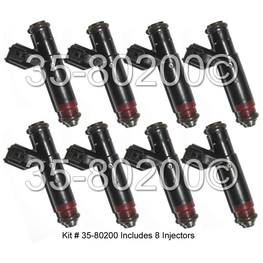 Jeep Grand Cherokee Fuel Injector Set