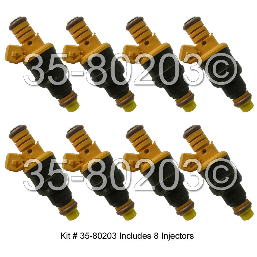 Ford Thunderbird Fuel Injector Set
