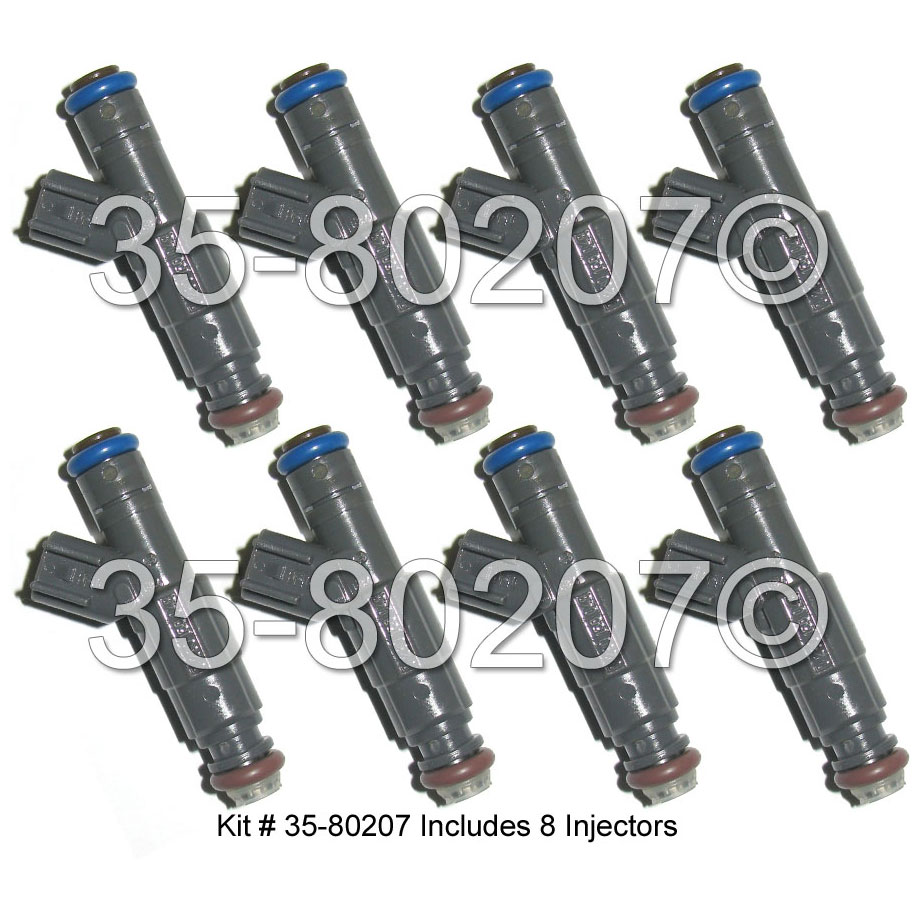 Mercury  Fuel Injector Set
