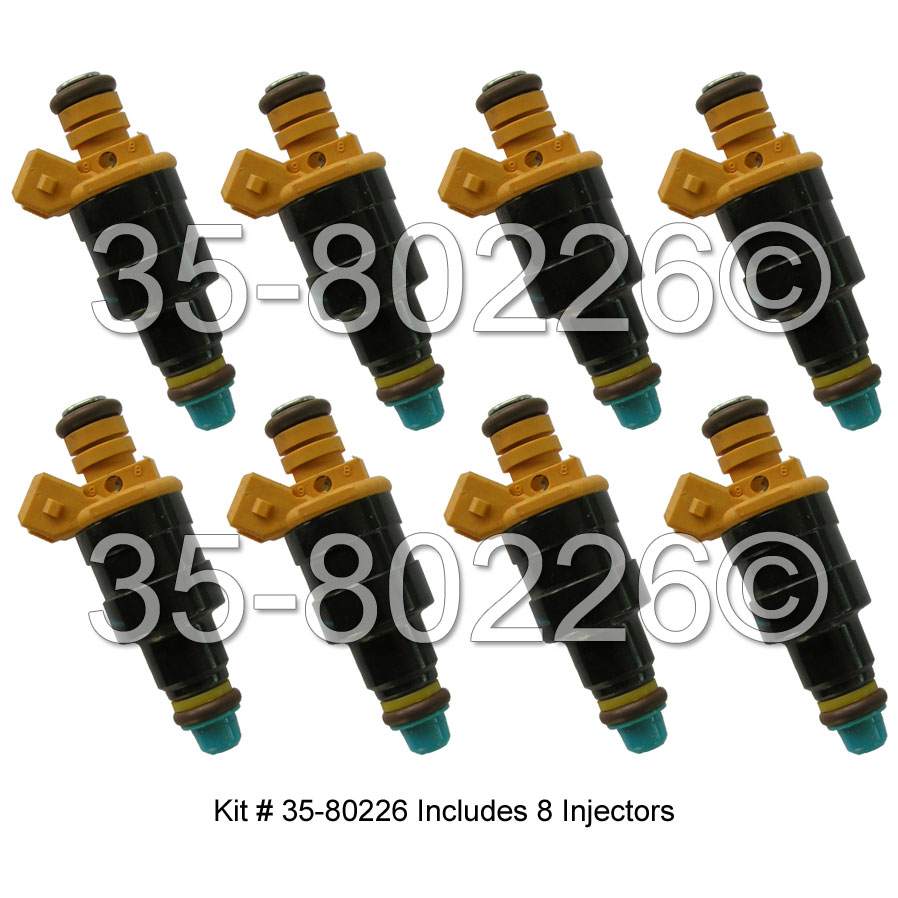 Lincoln Mark Series Fuel Injector Set