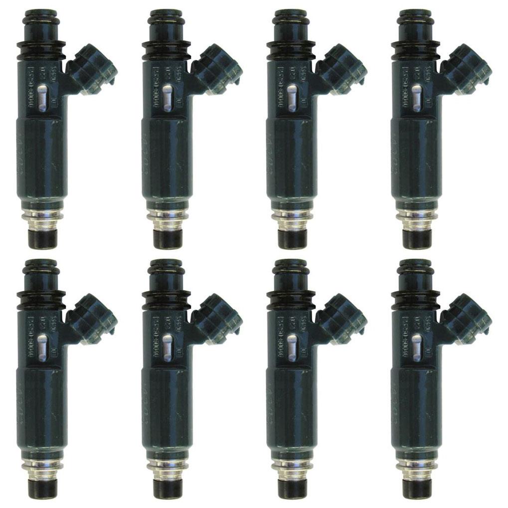 lexus gx470 fuel injector set parts view online part sale. Black Bedroom Furniture Sets. Home Design Ideas