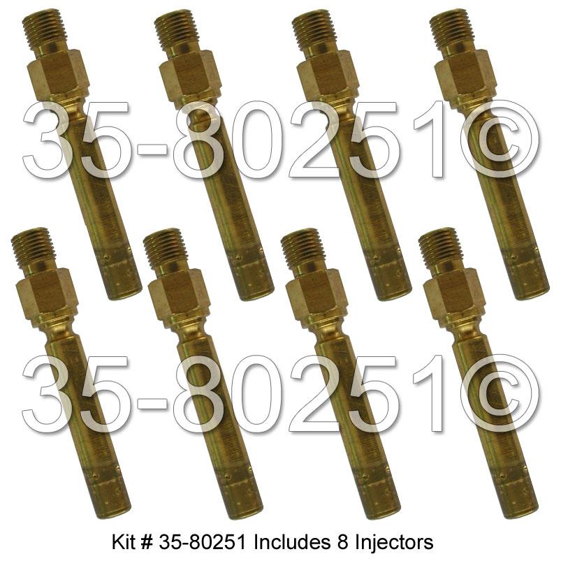 Mercedes_Benz 380SE Fuel Injector Set
